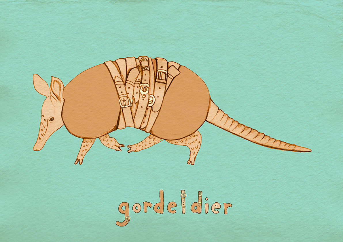gordeldierweb